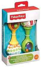 Maracas Musical Baby Toy New Rattle Rock Infant Fisher Price FREE SHIPPING