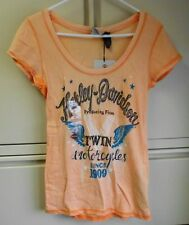 Harley Davidson Women's Orange Shirt (HDW)