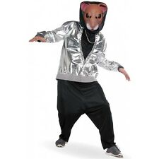Hamster Costume Adult Hip Hop Funny Halloween Fancy Dress