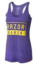 Razor Ramon Wwf Wwe Women's Tank Top Small New Purple