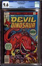 DEVIL DINOSAUR #1 (1978 Marvel) CGC 9.6 NM+ 1ST APPEARANCE JACK KIRBY