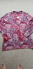 ISLE pretty soft fleece top size Large ( 18 - 20 ) New with tags