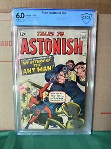 Tales To Astonish 35.  2nd Appearance and Origin.  1st Ant Man Costume.