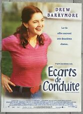 Affiche ECARTS DE CONDUITE Rinding in cars with boys DREW BARRYMORE 40x60cm *