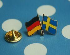 Freundschaftspin Deutschland Schweden Königreich Sverige Pin Badge Anstecker