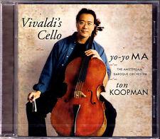 Yo-Yo Ma: Vivaldi's cello concerto for 2 violoncelles Jonathan Manson Ton Koopman CD