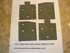 1965-1966 Ford Mustang A- pillar Hinge mounting Backing Plate