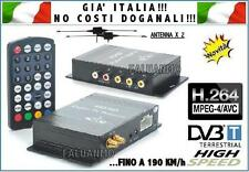 DECODER DVB-T AUTO DIGITALE TERRESTRE MPEG4 ALTA VELOCITA' H.264 DOPPIA ANTENN