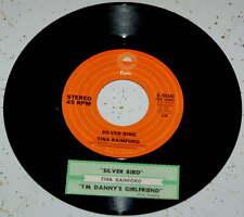 Tina Rainford 45 Silver Bird / I'm Danny's Girlfriend