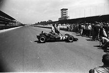 Al Unser Johnny Lightning Colt Ford #1 @ 1971 Indy 500 - Orig B&W Negatives