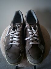 Ashworth Cardiff Men's Size 12 Gray White Spikeless Hybrid Golf Shoes