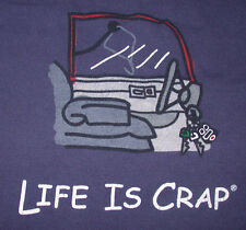 Life Is Crap Locking Your Keys In The Car Wire Coat Hanger T Shirt Large Funny