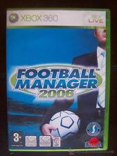 FOOTBALL MANAGER 2006 - XBOX 360 PAL ESPAÑA (4K)