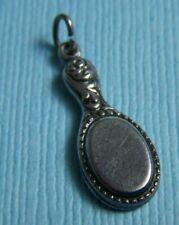 Vintage 40's hand mirror sterling charm