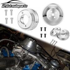 Alternatorcrank Water Pump V Belt Pulley Kit For 69 Small Block Ford 351w 302