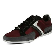 Hugo BOSS Green Spacit Men's Fashion Sneakers Shoes 50247632 647 Red