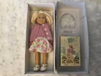 """NEW RETIRED American Girl Kit Mini doll 6"""" Older Version + Meet Kit Book"""