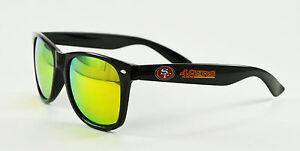 San Francisco 49ers Retro Sunglasses with Reflective Lens NFL Football