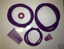 Purple  Split Conduit Engine /  Wiring Dress Up Kit  -  Boostjunkies