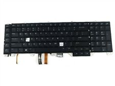 New listing Dell Alienware 17 R4 R5 Series Us English Backlit Hot Keys Laptop Keyboard N7Kjd