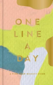 Modern One Line a Day: A Five-Year Memory Book (Daily Journal, Mindfulness