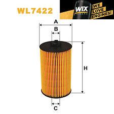1x Wix Oil Filter WL7422 - Eqv to Fram CH10246
