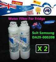 2 x Samsung DA29-00020B Water Filter SRF679SWLS SRF680CDLS SRF719DLS