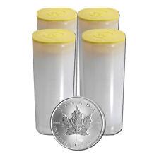 Investment 100 x 1 oz Silber Maple Leaf 2019 Kanada Silbermünze 999,9