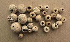 Good Viking Stone Ceramic Beads Set 8-10 AD Kievan Rus