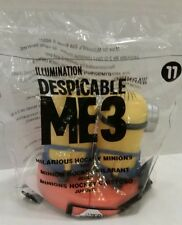 McDonald's Happy Meal Toy Number 11 Hilarious Hockey Minions Despicable Me 3