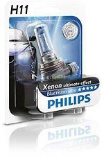 Philips H11 Blue Vision Ultra Automotive Headlight 12W 55W 12362BVU (1 Bulb)