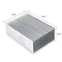100*69*36mm Aluminum Heatsink Heat Sink Radiator Fin LED High Power Amplifier LJ