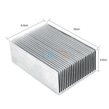 100*69*36mm Aluminum Heatsink Heat Sink Radiator Fin f/ LED High Power Amplifier