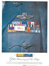 CONVAIR AIRCRAFT 1957 GOLDEN 50TH ANNIVERSARY OF US AIR FORCE 1906-1957 AD