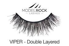 MODELROCK LASHES VIPER Double Layered False Eyelashes Signature Range Human Hair