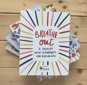 BREATHE OUT JOURNAL CREATIVE GUIDE TO HAPPINESS FOR TEENS MIND CHARITY NOTEBOOK