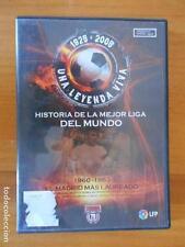 DVD HISTORIA DE LA MEJOR LIGA DEL MUNDO 5 -1960-1963 -EL MADRID MAS LAUREADO (V3