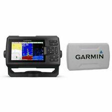 "Garmin Fish finder Striker Plus 5cv with Transducer 5"" GPS 010-01872-00 + COVER"
