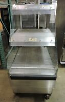 Alto-Shaam CC-24 Two Tier Hot Open Display Case With Casters
