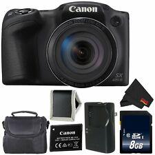 Canon PowerShot SX420 is Digital Camera (Black) 1068C001 (Intl Model) Model + 8G