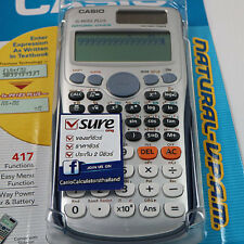NEW JAPAN CASIO FX-991ES PLUS417 FUNCTION TWO WAY POWER SOLAR&BATTERY CALCULATOR