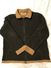 Jones New York Country Womens Size Large Sherpa Type Lined Brown Jacket / Coat