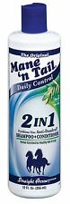 Mane'n Tail Daily Control 2-in-1 Anti-Dandruff Shampoo - Conditioner, 12 oz