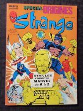 1985 Marvel Special Origines STRANGE French Comic #187 FN+ 6.5 Captain America