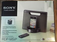 Sony Portable Compact Speaker Dock Remote for iPod iPhone New in Box RDPM5IP