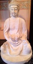 Latex Craft Mould For Large Lotus Buddha Ornament Reusable Art & Crafts Hobby