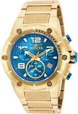 Invicta Men's 50mm Speedway Viper Blue Dial Stainless Steel Bracelet,New