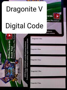 Dragonite V Digital Code Card x1 - English - Pokemon