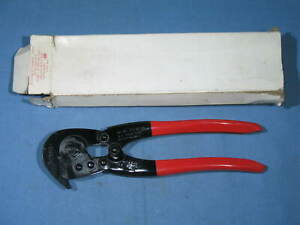 """HK Porter 0690C 9"""" Hand-Klip Wire Cutter Compound Fence Tool Painted Grip NEW"""