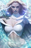 MARVEL Comics #1000 Book Virgin Emma Frost White Queen Sexy Artgerm Variant NM